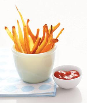 Papas fritas de zanahoria