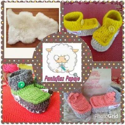 pantuflas de oveja