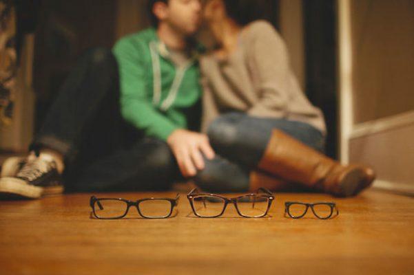 anuncio embarazo lentes