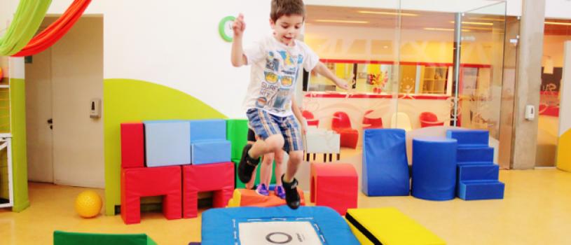 B-Active, el primer gimnasio para niños en Chile abre sus programas ...