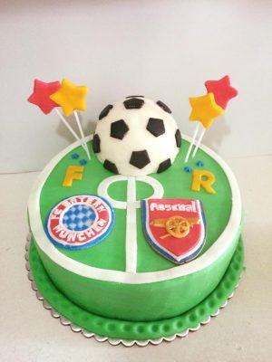 torta futbol