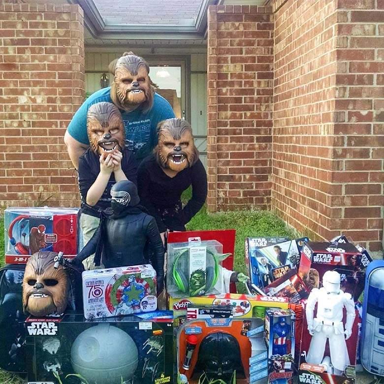candace-payne e hijos regalo kohls