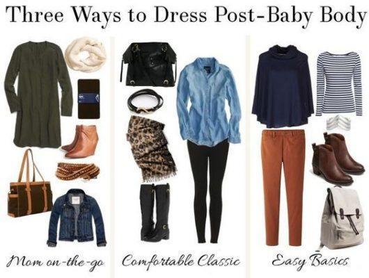 post parto ropa