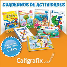 Caligrafix - Cuadernos de actividades